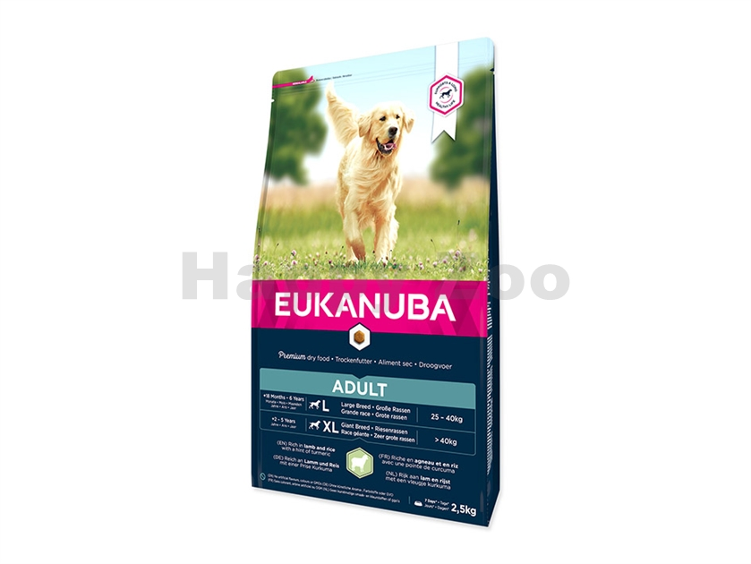 EUKANUBA Adult Large Breed Lamb 2,5kg