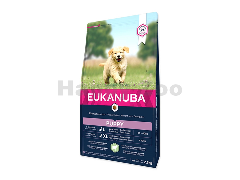 EUKANUBA Puppy & Junior Lamb 2,5kg