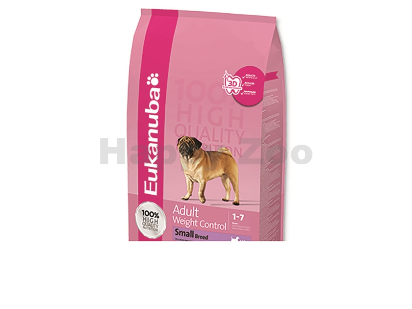 EUKANUBA Adult Weight Control Small Breed 1kg
