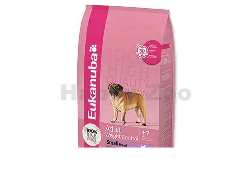 EUKANUBA Adult Weight Control Small Breed 3kg