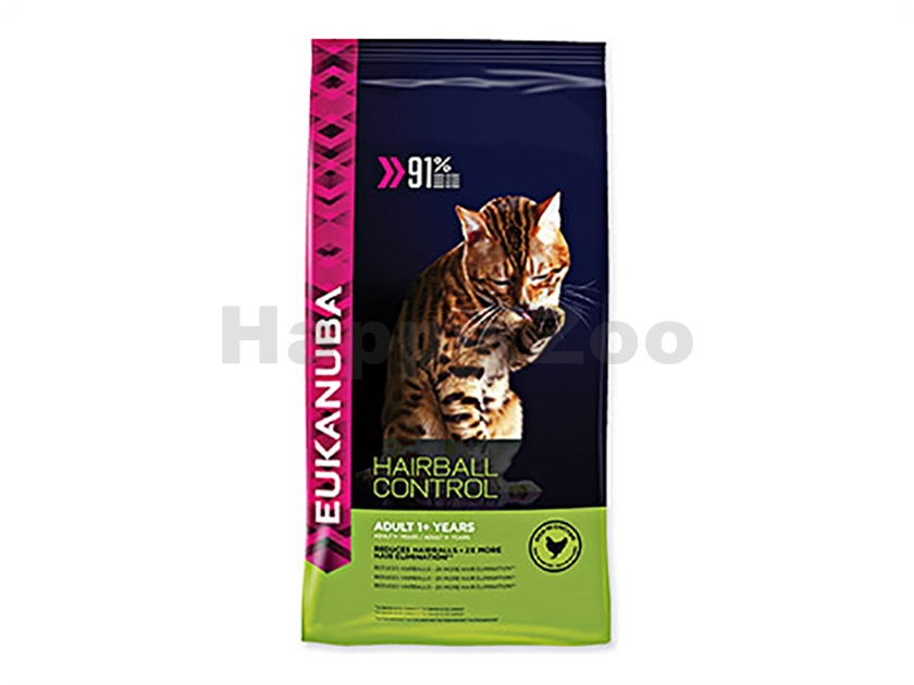 EUKANUBA Cat Adult Hairball Control Chicken 2kg