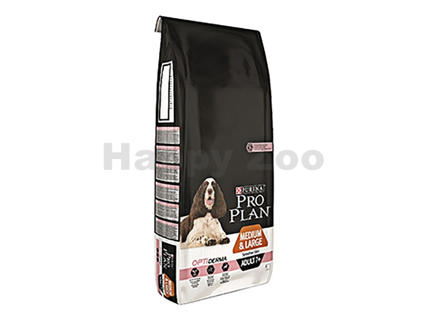 PRO PLAN Dog Medium & Large Adult 7+ Sensitive Skin 14kg