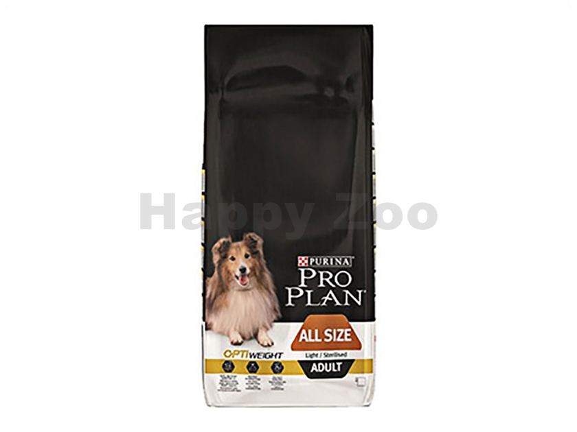 PRO PLAN Dog All Size Light/Sterilised 14kg