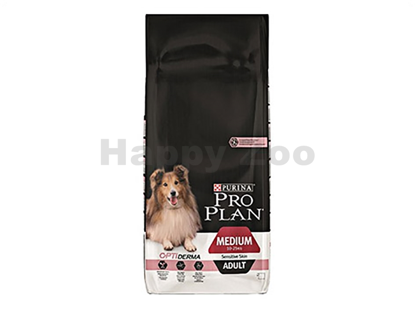PRO PLAN Dog Medium Adult Sensitive Skin 14kg