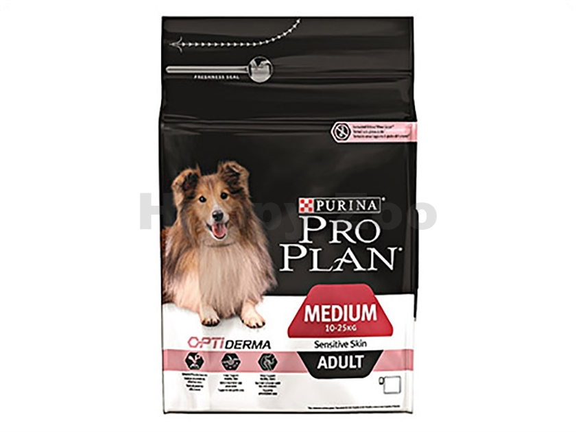 PRO PLAN Dog Medium Adult Sensitive Skin 3kg