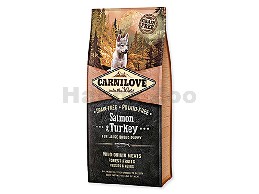 CARNILOVE Dog Salmon & Turkey for Large Breed Puppy 12kg