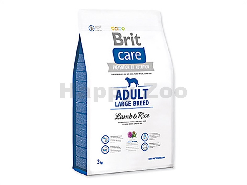 BRIT CARE Adult Large Breed Lamb & Rice 3kg