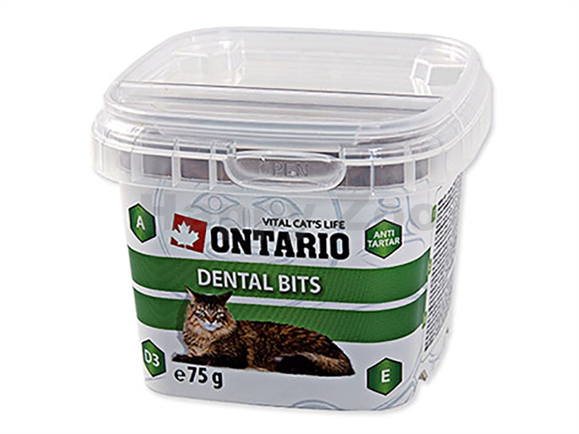 ONTARIO Cat Snack Dental Bits 75g