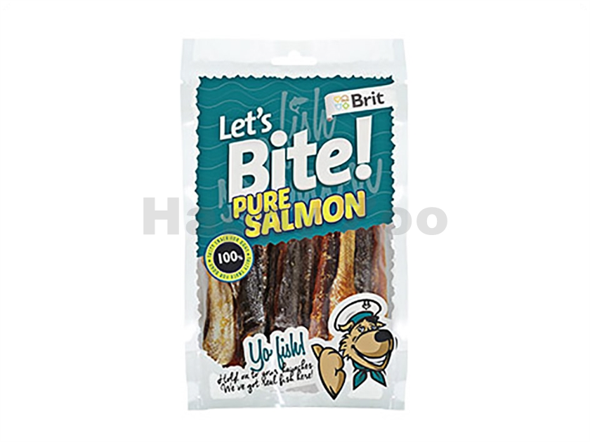 BRIT Lets Bite Yo Fish! Pure Salmon 80g