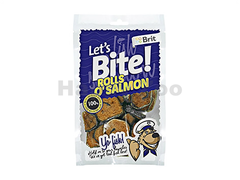BRIT Lets Bite Yo Fish! Rolls o´Salmon 400g