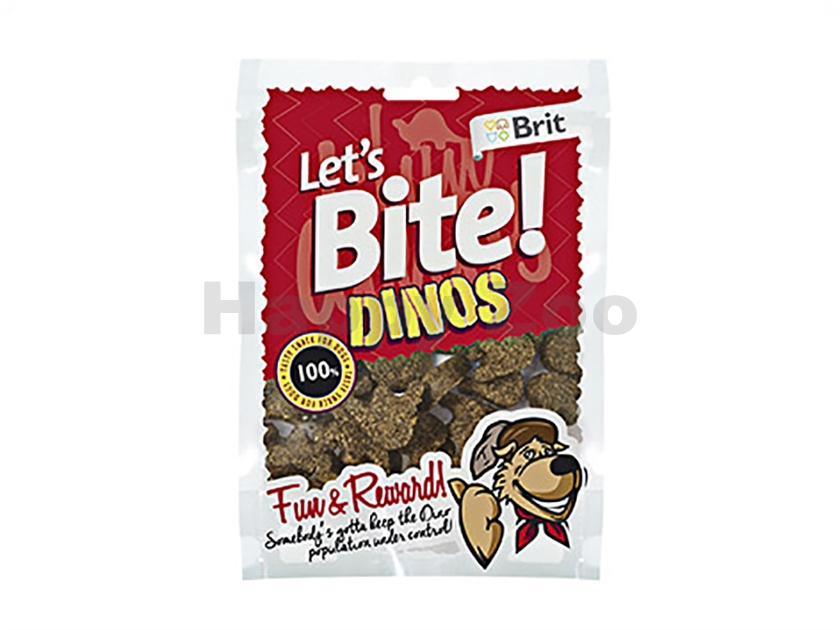 BRIT Lets Bite Fun & Reward! Dinos 150g