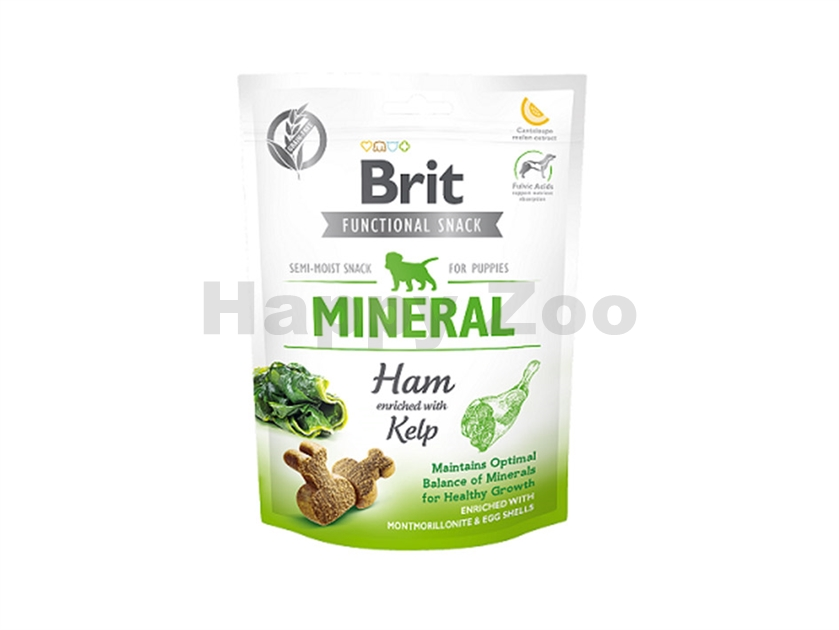 BRIT Functional Snack Mineral Ham (for Puppies) 150g