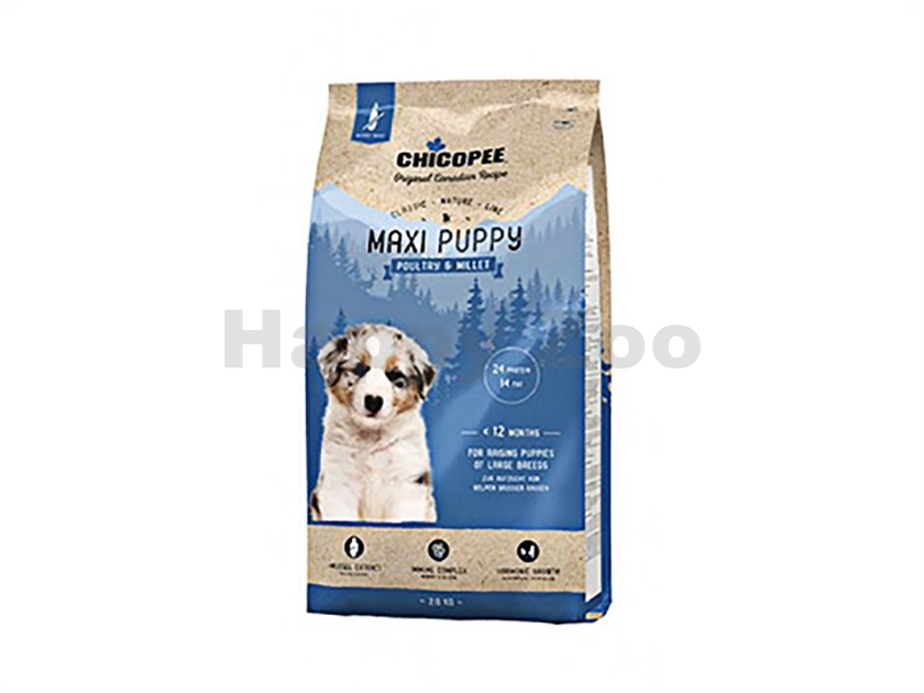 CHICOPEE Classic Nature Maxi Puppy Poultry & Millet 2kg