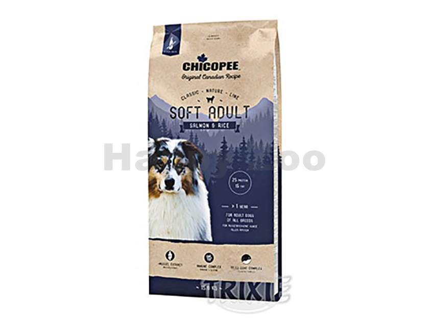 CHICOPEE Classic Nature Soft Adult Salmon & Rice 15kg