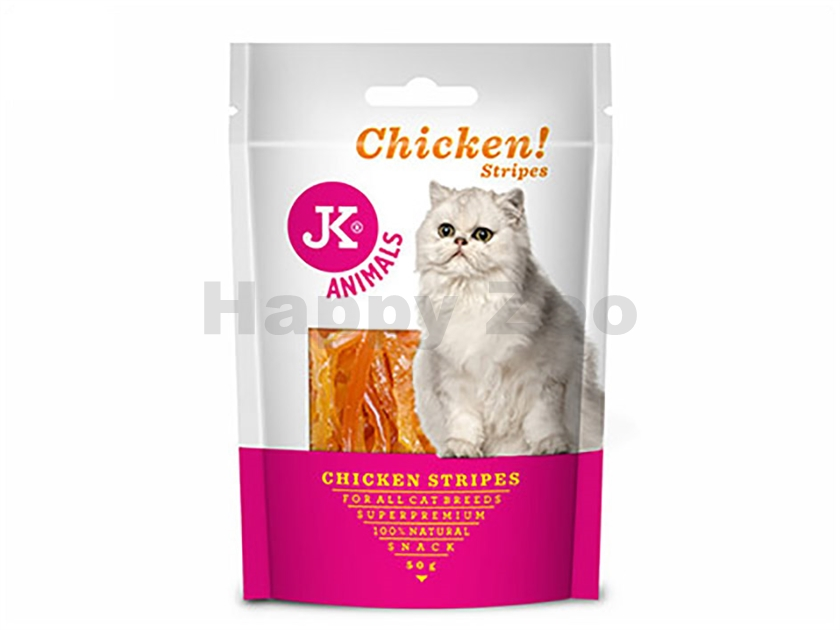 JK Cat Meat Snack - Chicken Strips 50g