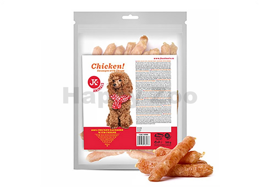 JK Meat Snack Chicken Sausages with Cheese 500g