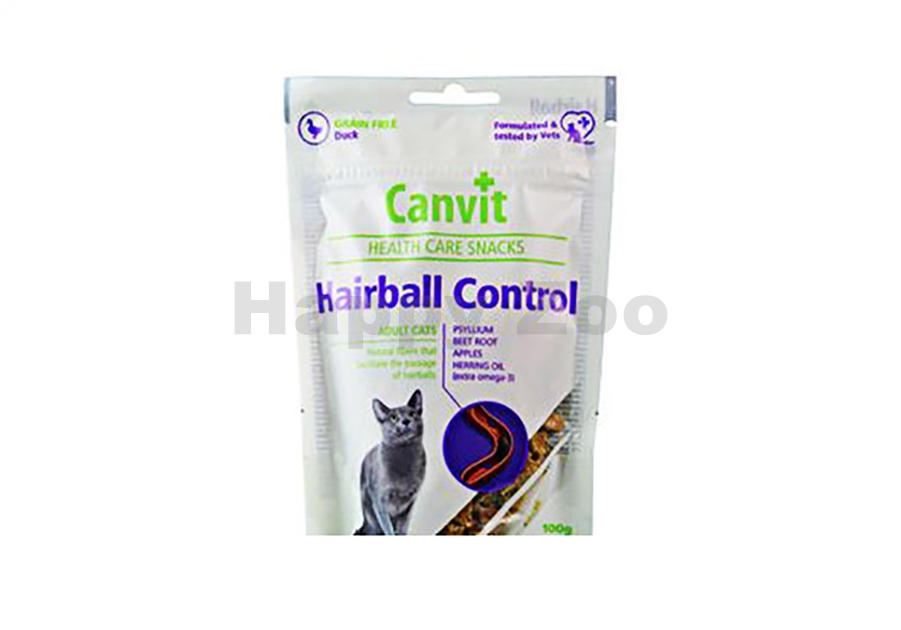 CANVIT Cat Snacks Hairball Control 100g