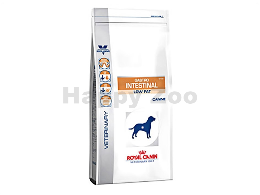ROYAL CANIN VD Dog Gastro Intestinal Low Fat LF 22 12kg