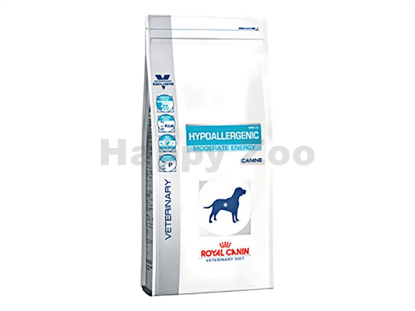 ROYAL CANIN VD Dog Hypoallergenic Moderate Energy HME 23 7kg