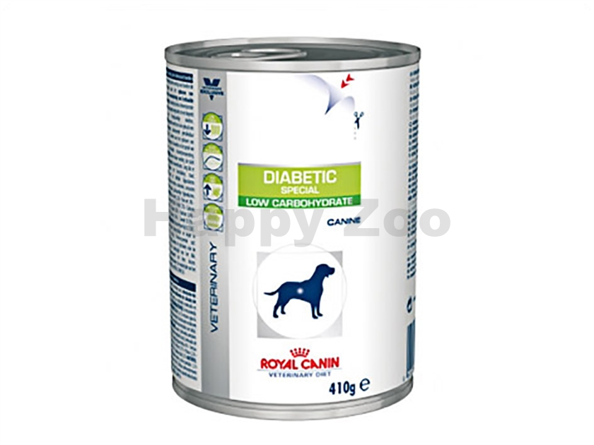 Konzerva ROYAL CANIN VD Dog Diabetic Special Low Carbohydrate 410g