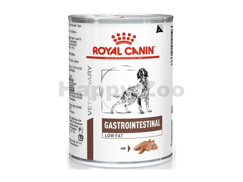Konzerva ROYAL CANIN VD Dog Gastro Intestinal Low Fat LF 22 410g