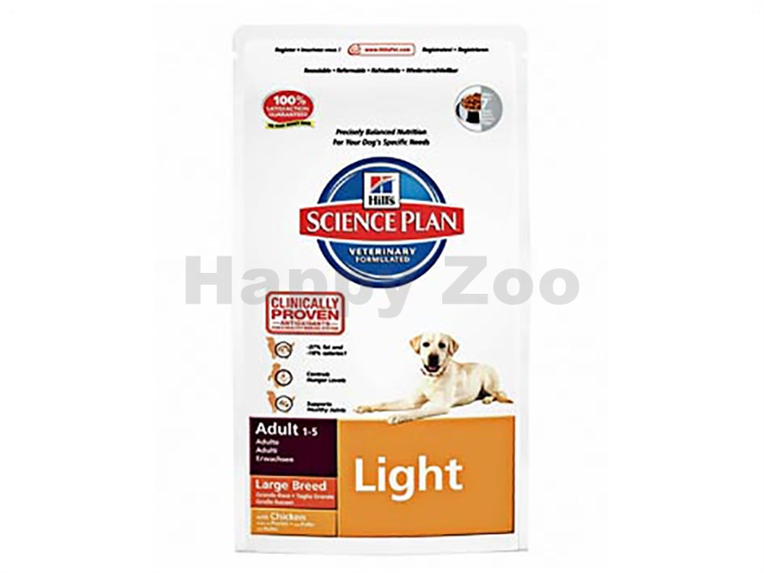 HILLS Canine Adult Light Large Breed 12kg