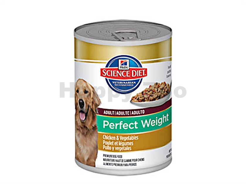 Konzerva HILLS Canine Adult Perfect Weight 363g