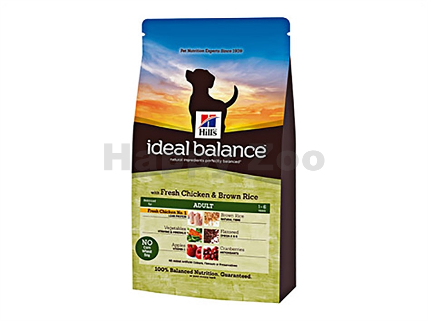 HILLS Ideal Balance Canine Adult Chicken and Brown Rice 2kg