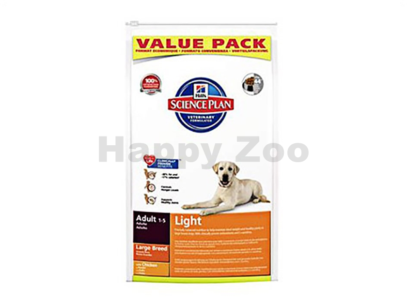HILLS Canine Adult Light Large Breed 18kg