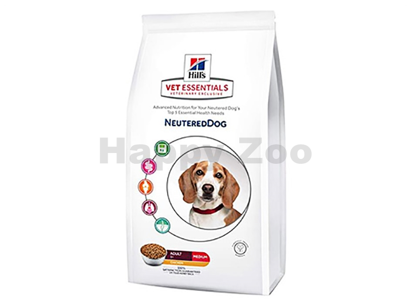 HILLS Canine VetEssentials Neutered Medium Breed 2kg