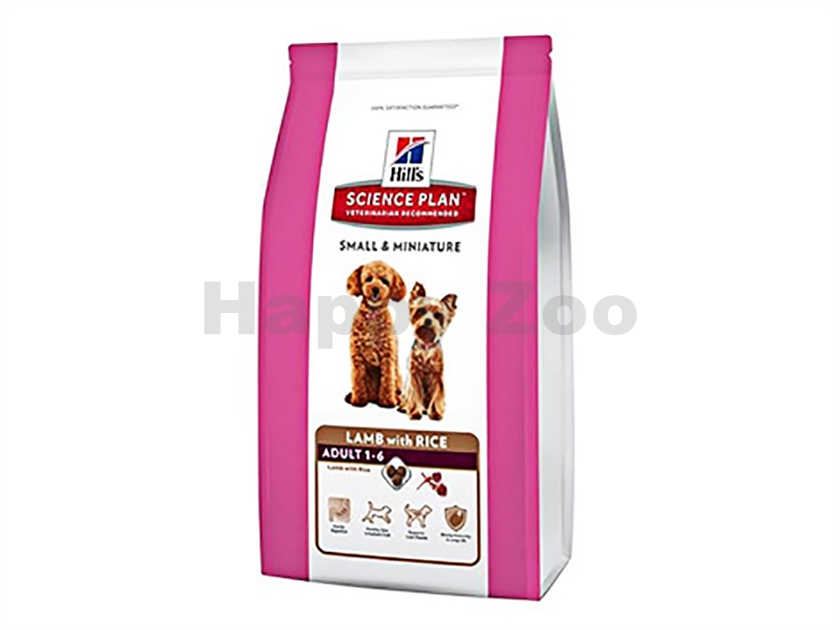 HILLS Canine Adult Lamb with Rice Small and Miniature 1,5kg