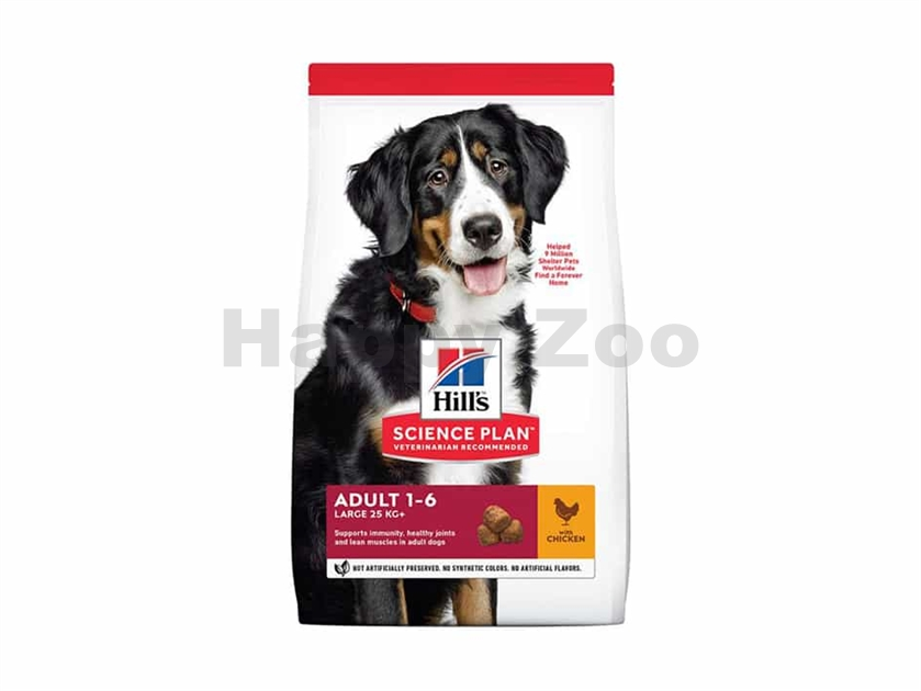 HILLS Canine Adult Large Breed Chicken 18kg