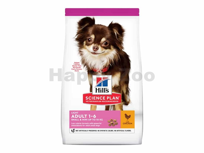 HILLS Canine Adult Light Small & Mini Chicken 6kg