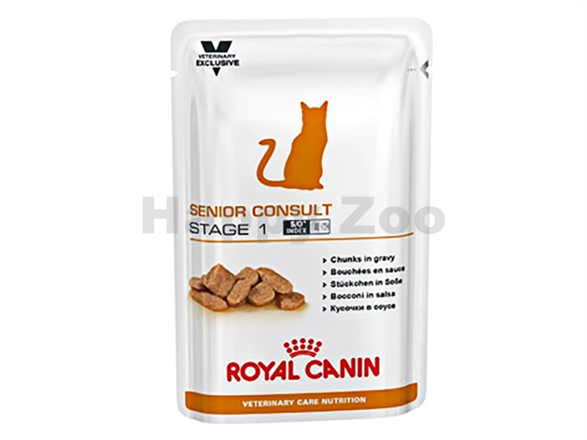 Kapsička ROYAL CANIN VET CARE Cat Senior Consult Stage 1 12x100g