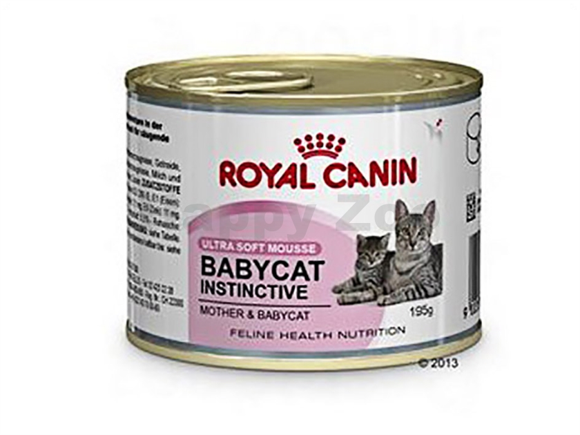 Konzerva ROYAL CANIN Baby Cat Instinctive 195g