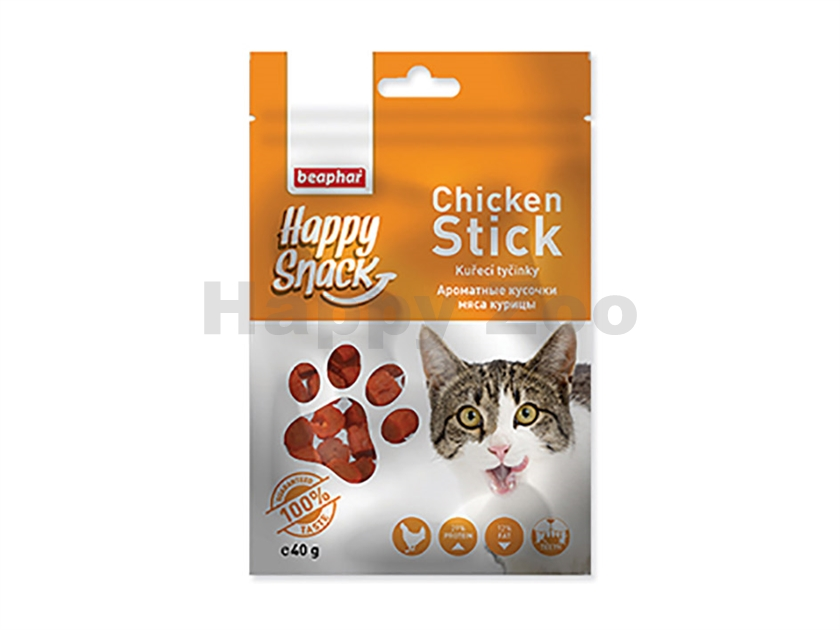 BEAPHAR Happy Snack Cat Chicken Stick 40g
