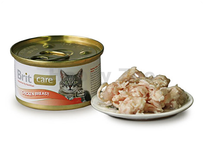Konzerva BRIT CARE Cat - Chicken Breast 80g