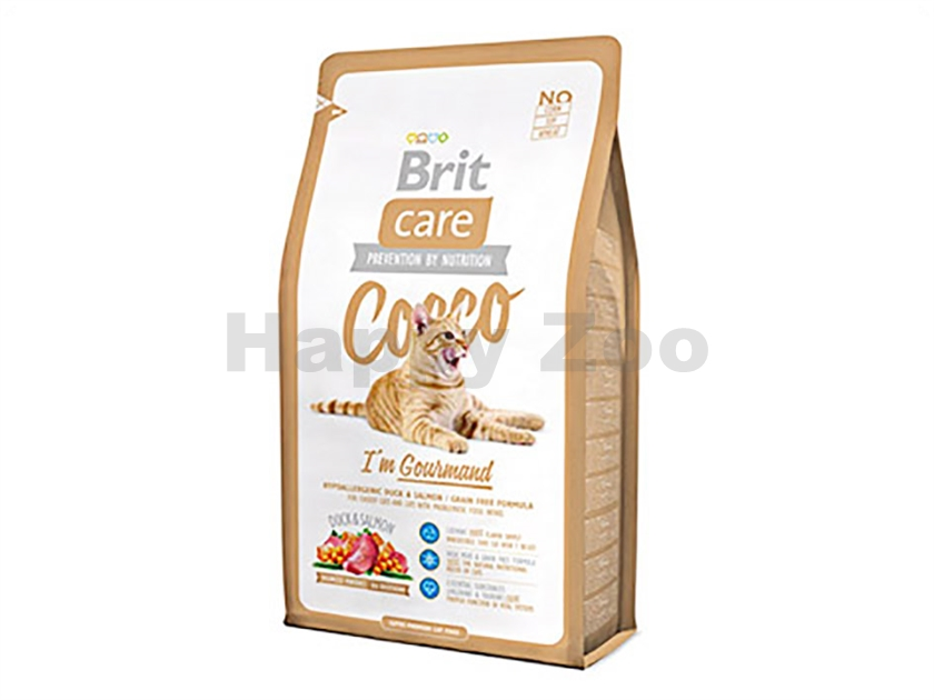 BRIT CARE Cat Cocco I´m Gourmand 400g
