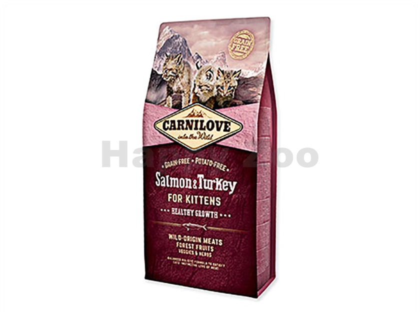 CARNILOVE Cat Salmon & Turkey for Kittens Healthy Growth 6kg