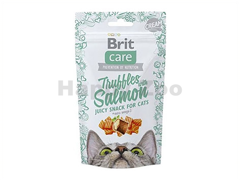 BRIT CARE Cat Snack Truffles with Salmon 50g