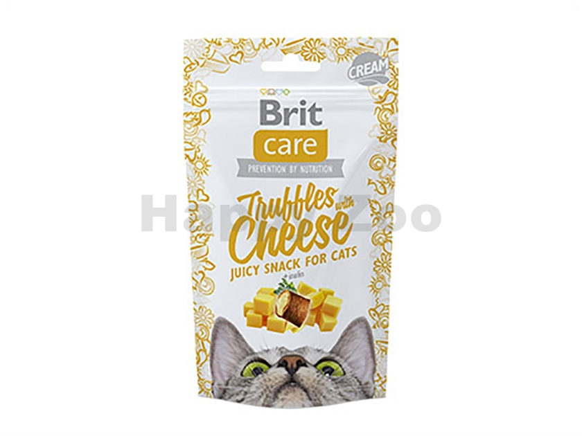 BRIT CARE Cat Snack Truffles with Cheese 50g