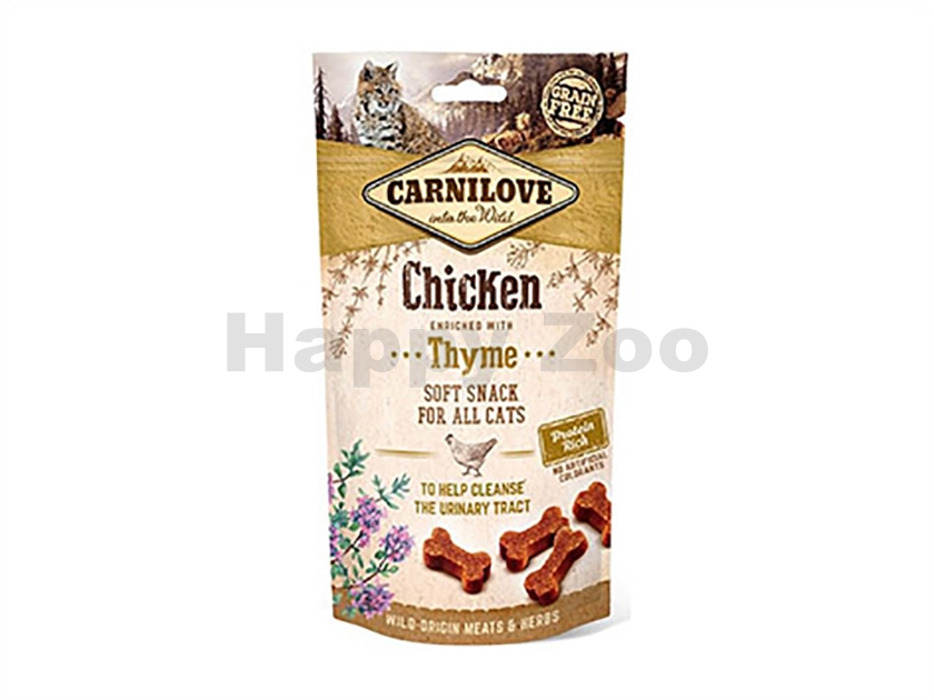 CARNILOVE Cat Soft Snack Chicken with Thyme 50g