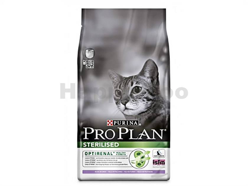 PRO PLAN Cat Sterilised Turkey 10kg
