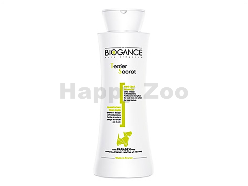 Šampón BIOGANCE Terrier Secret - na hrubou srst 250ml
