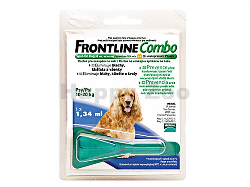 FRONTLINE Combo Spot-on Dog (M) 1x1,34ml (pro psy 10-20kg)