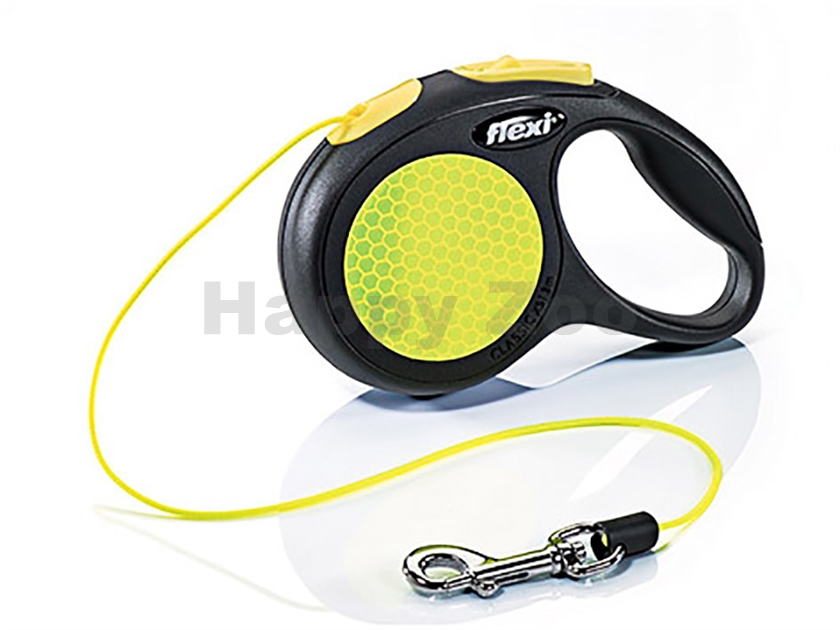 FLEXI New Neon Cord (XS) (do 8kg, 3m lanko) (DOPRODEJ)