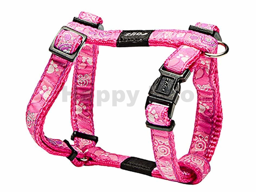 Postroj ROGZ Fancy Dress SJ 01 CA-Pink Paws (S) 1,1x20-34x23x37c