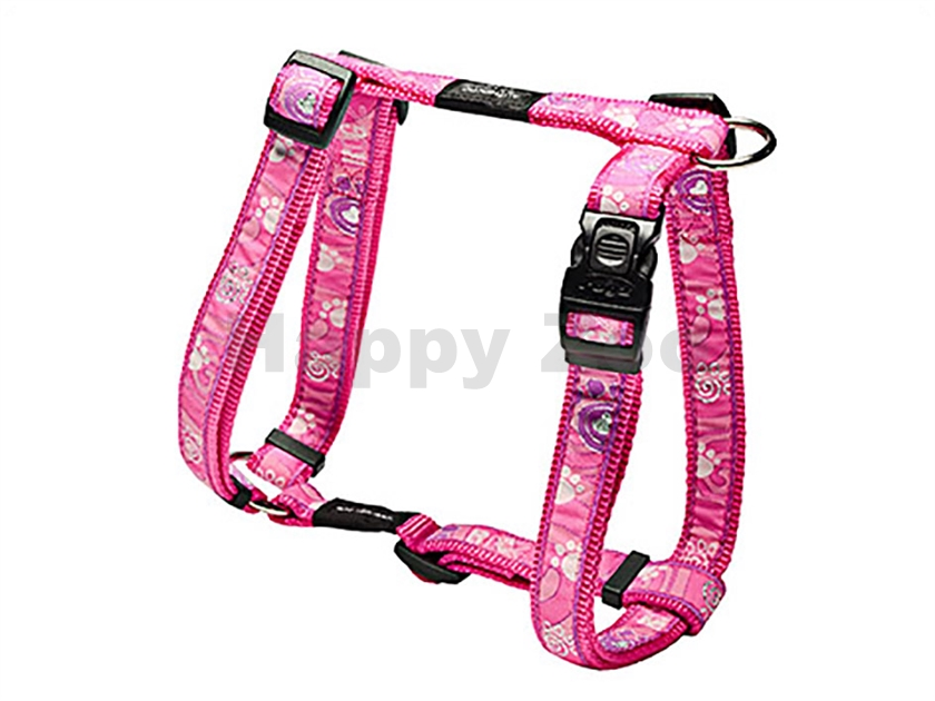 Postroj ROGZ Fancy Dress SJ 03 CA-Pink Paws (L) 2x29-64x45-75cm