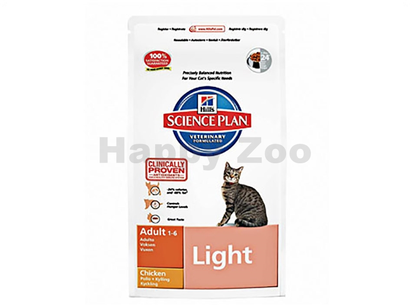 HILLS Feline Adult Light Chicken 1,5kg