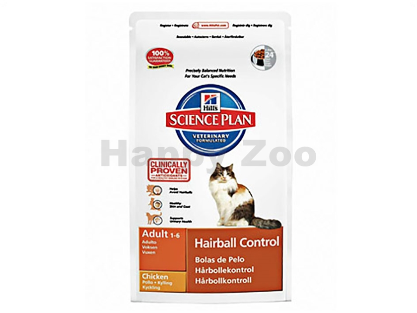 HILLS Feline Adult Hairball Control Chicken 1,5kg